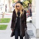 Rachel Zoe made her way out of Le Pain quotidean