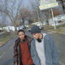 Eugene Byrd and Eminem in Universal's 8 Mile - 2002