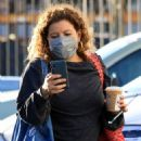 Justina Machado – Practice at the DWTS studio in Los Angeles