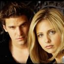 Sarah Gellar and David Boreanaz in Buffy the Vampire Slayer