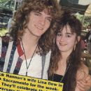 Frank and Lisa Hannon at the World Series Of Rock on Memorial Day Weekend 1989 - 454 x 543