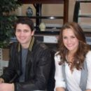 James Lafferty and Shantel VanSanten - 350 x 262