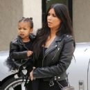 Kim Kardashian Taking Her Daughter To Dance Class In La