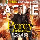 Logan Lerman, Brandon T. Jackson, Alexandra Daddario - Acine Magazine Cover [Colombia] (August 2013)