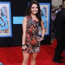 """Actress Danielle Campbell arrives at the premiere of Walt Disney Pictures' """"Prom"""" at the El Capitan Theater on April 21, 2011 in Los Angeles, California"""
