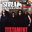 Testament - Scream Magazine Cover [Norway] (October 2016)