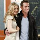 Christina Moore and Charles Esten