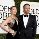 Ryan Reynolds and Blake Lively : 74th Annual Golden Globe Awards - 454 x 319