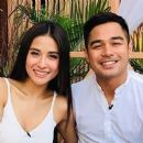 Benjamin Alves and Sanya Lopez