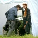 Saoirse Ronan – Filming Mary Queen Of Scots in London - 454 x 454