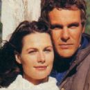 Lisa Chappell and Aaron Jeffery