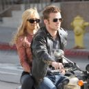 Christina Aguilera and Cam Gigandet