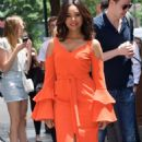 Regina Hall at 'The View' Studios in New York City - 454 x 818