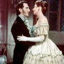 Hazel Court and Peter Cushing