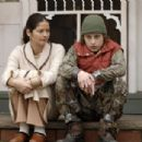 Jill Hennessy as Brenda Bartlett and Rory Culkin as Scott Bartlett in comedy drama Lymelife.