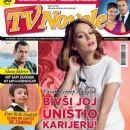 Farah Zeynep Abdullah, Emir Berke Zincidi, Murat Yildirim - TV Novele Magazine Cover [Serbia] (April 2013)