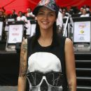 Roby Rose takes part in the 'Foxtel Lap' to raise money and awareness for the Murdoch Children's Research Institute in Martin Place on November 14, 2008 in Sydney