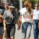 Kristen Stewart and Stella Maxwell – Hold Hands While Taking a Walk in Manhattan
