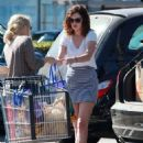 Rumer Willis making a stop at Whole Foods while out running errands in Los Angeles (August 26)