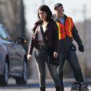 Selena Gomez Filming The Revised Fundamentals Of Caregiving Set In Atlanta