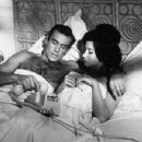 Zena Marshall and Sean Connery