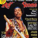 Jimi Hendrix - Rolling Stone Magazine Cover [France] (October 2010)
