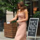 Jessica Alba – Leaves her hotel in New York City