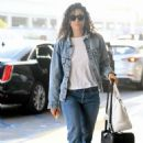 Emmy Rossum – Arrives at LAX Airport in LA - 454 x 649
