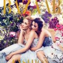 Kylie Dannii Minogue Harpers Bazaar Australia December 2014