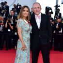 Salma Hayek–Anniversary Soiree at70th Cannes Film Festival - 454 x 682