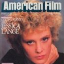 Jessica Lange - American Film Magazine [United States] (January 1983)