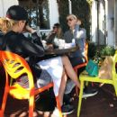 Claire Holt – Getting Lunch With a Friend in West Hollywood, CA 10/17/ 2016