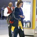 Bella Hadid – Leaving JFK Airport in New York