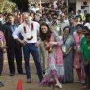 The Duke & Duchess of Cambridge Visit India - Day 1