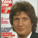 Patrick Sébastien - Télé Star Magazine Cover [France] (10 September 1990)