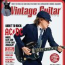 Angus Young - Vintage Guitar Magazine Cover [United States] (January 2021)