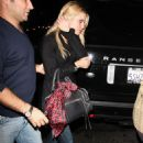 Jessica Simpson Leaving The Aptly-named The Village Idiot Restaurant - Oct 20 2007