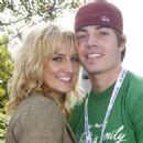 Ashlee Simpson and Josh Henderson