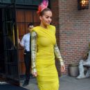 Rita Ora – Leaves the Bowery Hotel in New York