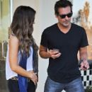 Kate Beckinsale stops by a nail salon for a mani/pedi in Santa Monica, California on January 31, 2015