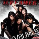 Ashley Purdy, Jake Pitts, Christian Coma, Jeremy Miles, Andy Biersack - Screamer Magazine Cover [United States] (February 2013)