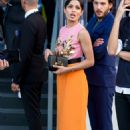 Freida Pinto – Arrives at Moschino Fashion Show in Milan - 454 x 681