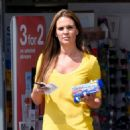 Danielle Lloyd – Out in Birmingham - 454 x 587