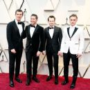 Gwilym Lee, Allen Leech, Joseph Mazzello, and Ben Hardy At The 91st Annual Academy Awards - Arrivals