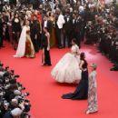 Sonam Kapoor :  'Blackkklansman' Red Carpet Arrivals - The 71st Annual Cannes Film Festival - 454 x 340