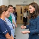 Kate Middleton at Kings College Hospital in south London - 454 x 303