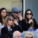 Justin Timberlake and Jessica Biel at the Men's FInal of the 2013 US Open (September 9)