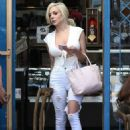 Courtney Stodden at Little Next Door out in West Hollywood - 454 x 681