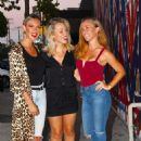 Kendra Wilkinson has a Girls Night Out at Craigs - 454 x 750