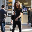 Zendaya Coleman is seen shopping with her mom and dog at the Grove in Los Angeles, California on August 12, 2016 - 429 x 600